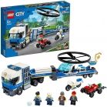 LEGO city transport de l hélicoptère