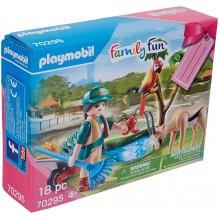 Playmobil set cadeau le soigneur 70295