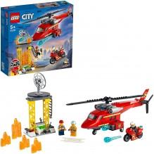 Lego city hélicoptère de secours 60281