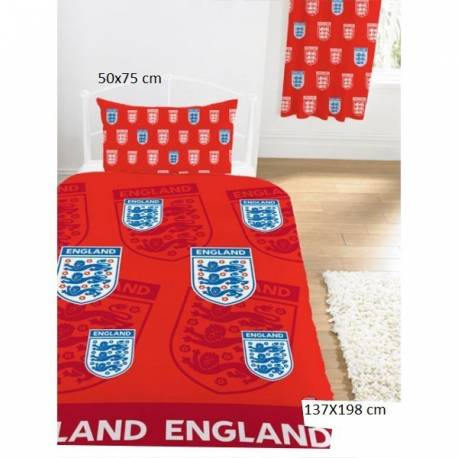 HOUSSE DE COUETTE ANGLETERRE rouge