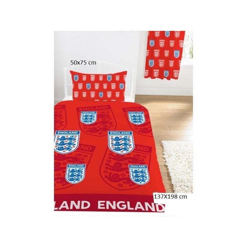 housse de couette england rouge pas cher acheter. Black Bedroom Furniture Sets. Home Design Ideas
