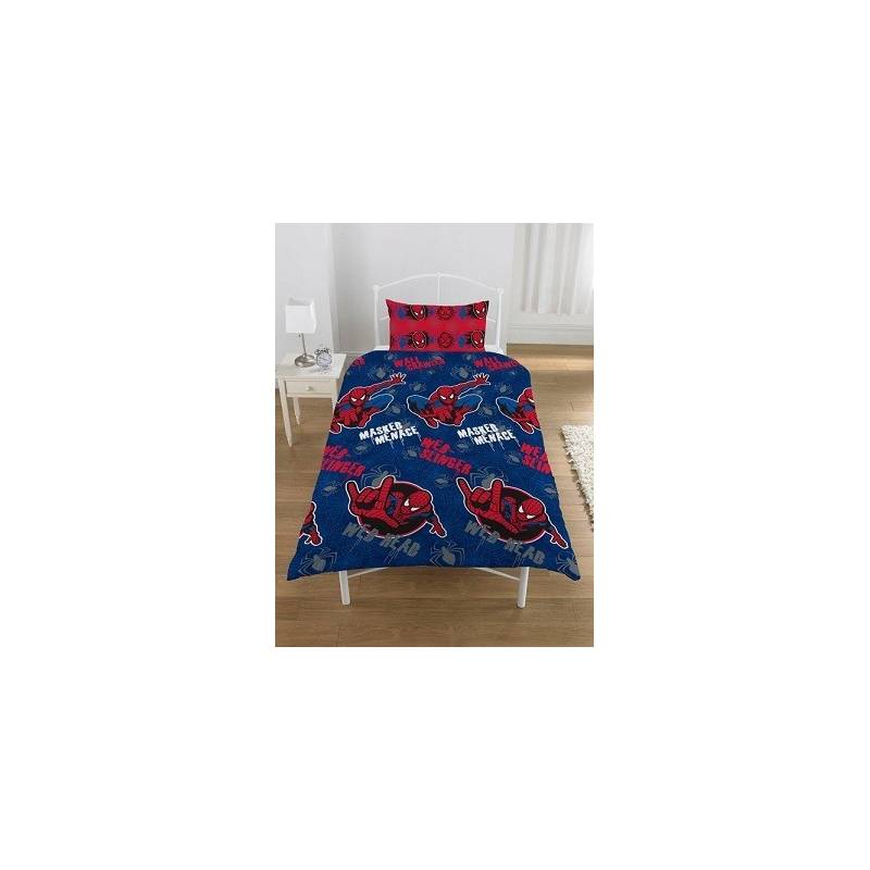 Housse de couette spiderman masked menace pas cher for Housse couette spiderman