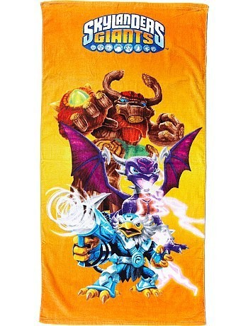 drap de bain skylanders giants pas cher acheter produits. Black Bedroom Furniture Sets. Home Design Ideas