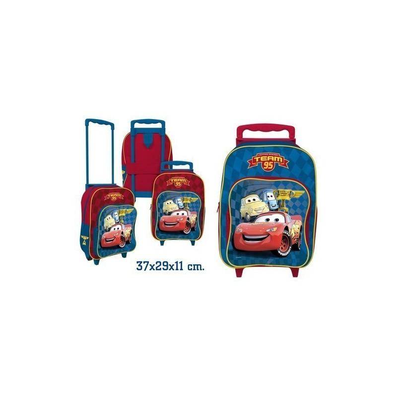 f3d6a7d0fabcf8 Cars Disney Sac a dos Cartable à roulettes pour l école TIBzY2wJZ6 ...