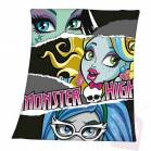 PLAID MONSTER HIGH Frankie stein,lagoona,blue