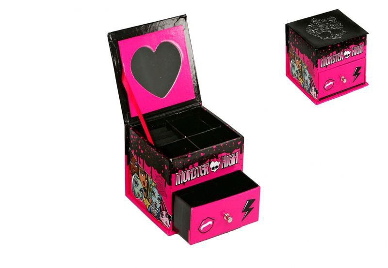 boite a bijoux monster high pas cher acheter produits en vente. Black Bedroom Furniture Sets. Home Design Ideas