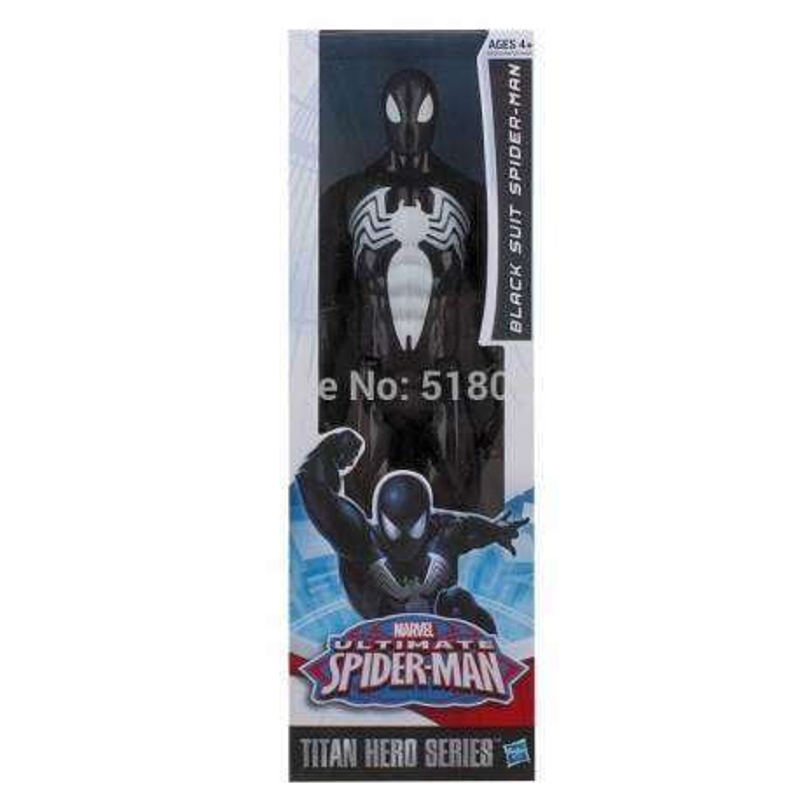 FIGURINE SPIDERMAN Noir 30 cm