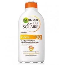 AMBRE SOLAIRE GARNIER Lait Protecteur Anti-dessèchement FPS 30 200 ml