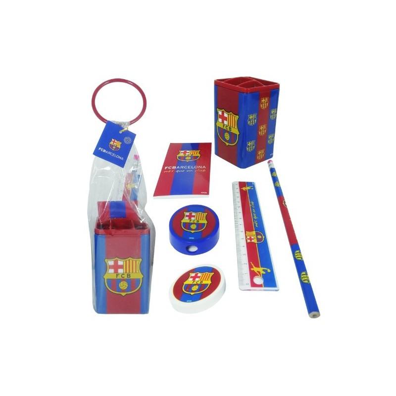 SET SCOLAIRE EN POT FC BARCELONE