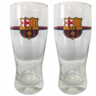 SET DE 2 VERRES A BIERE PARIS SG