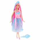 BARBIE Princesse chevelure Rose
