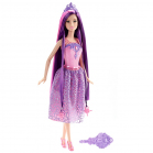 BARBIE Princesse chevelure Violette