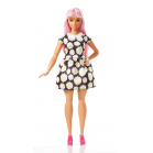 POUPEE BARBIE FASHIONISTAS Cheveux roses