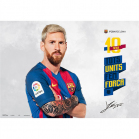 SOUS MAIN FC BARCELONE Lionel Messi