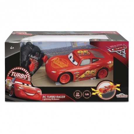 voiture cars 3 rc 1 24 flash mcqueen. Black Bedroom Furniture Sets. Home Design Ideas