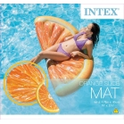 MATELAS GONFLABLE ORANGE INTEX
