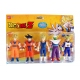 PACK 5 FIGURINES DRAGON BALL Z
