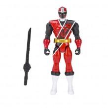 Figurine Power Rangers 12 cm Ninja Steel : Rouge