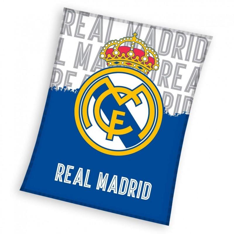 PLAID POLAIRE REAL DE MADRID