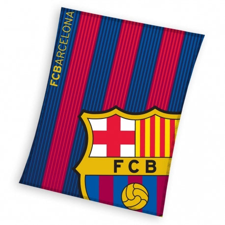 PLAID POLAIRE FC BARCELONE Logo