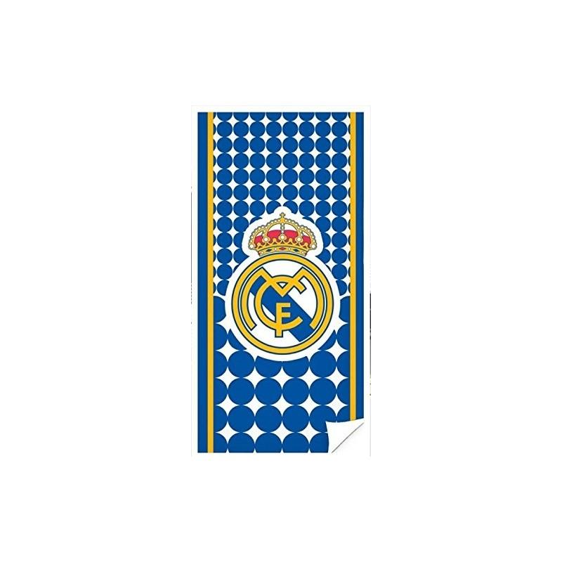DRAP DE BAIN REAL DE MADRID blanc les joueurs