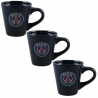 SET 3 TASSES A CAFE PARIS SAINT GERMAIN