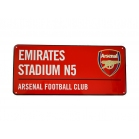 PLAQUE DE RUE ARSENAL FC