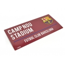 PLAQUE DE RUE FC BARCELONE