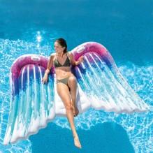 MATELAS GONFLABLE ANGEL WINGS INTEX 251 cm x 160 cm