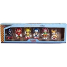 Pack 6 figurines Sonic