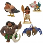 COFFRET 5 FIGURINES VAIANA