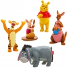 COFFRET 5 FIGURINES WINNIE L'OURSON
