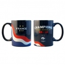 MUG EQUIPE DE FRANCE FOOTBALL champions du monde