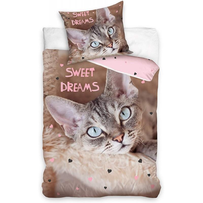 HOUSSE DE COUETTE CHAT Sweet Dreams