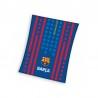 PLAID POLAIRE FC BARCELONE Rayures