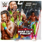 WWE BIG E XAVIER WOODS Pack de 2 figurines