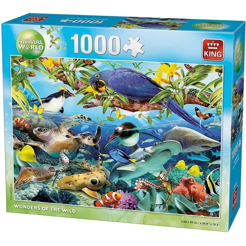 PUZZLE ANIMAUX DE LA NATURE 1000 Pièces