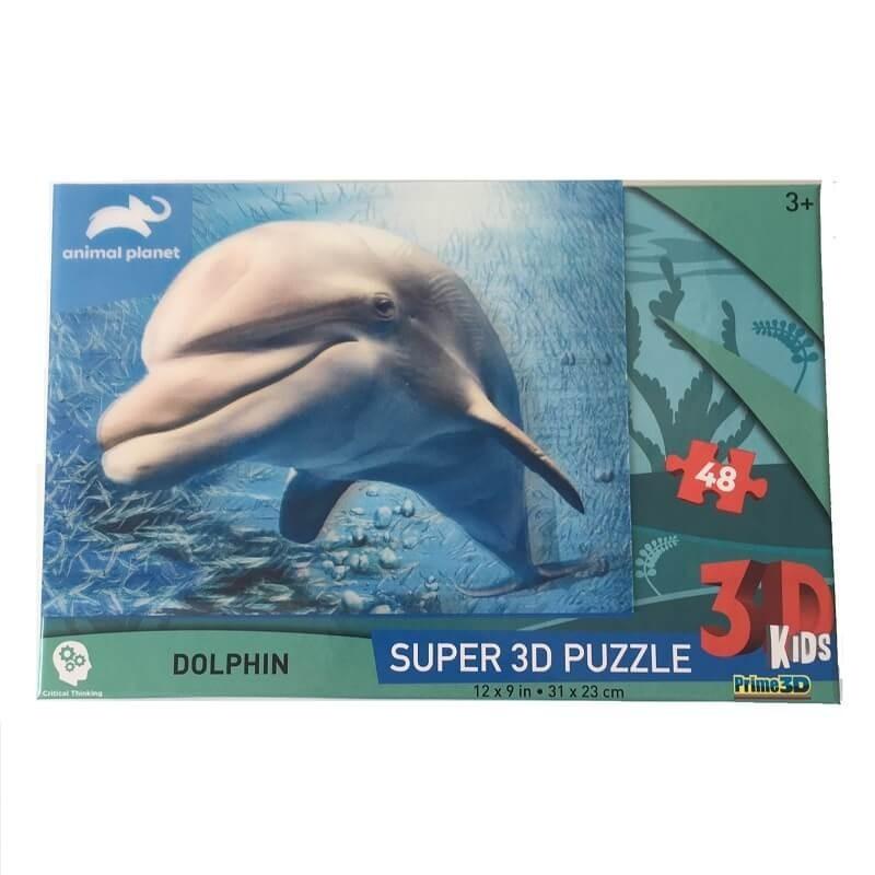 PUZZLE DAUPHIN 3D