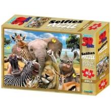 PUZZLE AFRICA 3D