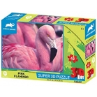 PUZZLE FLAMANT ROSE 3D