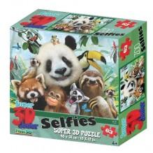 PUZZLE PANDA 3D et ses amies 48 Pièces